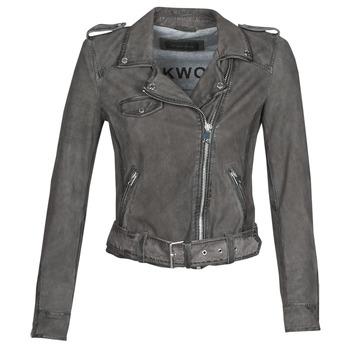 Odjeća Žene  Kožne i sintetičke jakne Oakwood PLEASE Siva
