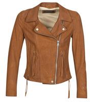 Odjeća Žene  Kožne i sintetičke jakne Oakwood ANGIE Smeđa