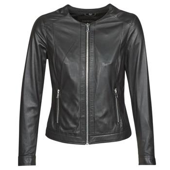 Odjeća Žene  Kožne i sintetičke jakne Oakwood MICHELLE Crna