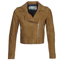 Odjeća Žene  Kožne i sintetičke jakne Oakwood PHOEBE Boja konjaka / Suede