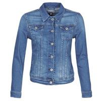 Odjeća Žene  Traper jakne Pepe jeans THRIFT Blue / Hb6