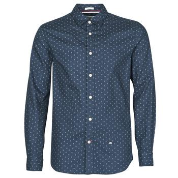 Odjeća Muškarci  Košulje dugih rukava Pepe jeans ADAN Blue