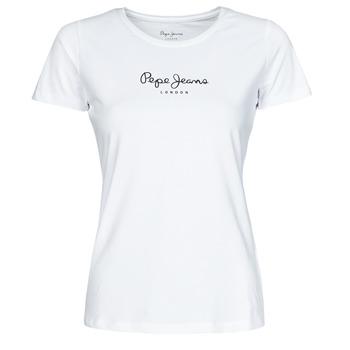 Odjeća Žene  Majice kratkih rukava Pepe jeans NEW VIRGINIA Bijela