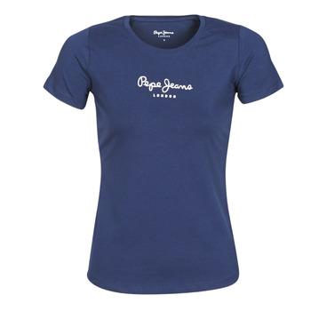 Odjeća Žene  Majice kratkih rukava Pepe jeans NEW VIRGINIA Blue