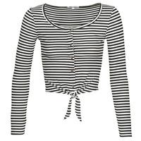 Odjeća Žene  Topovi i bluze Pepe jeans FALBALA Crna