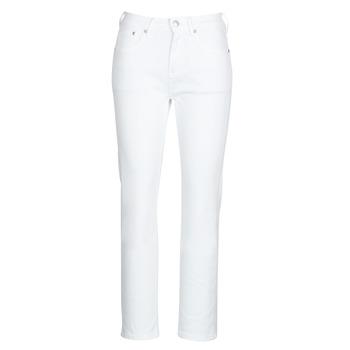 Odjeća Žene  Traperice ravnog kroja Pepe jeans MARY Bijela