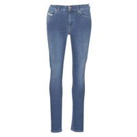 Odjeća Žene  Slim traperice Diesel D-ROISIN Blue / 085ab