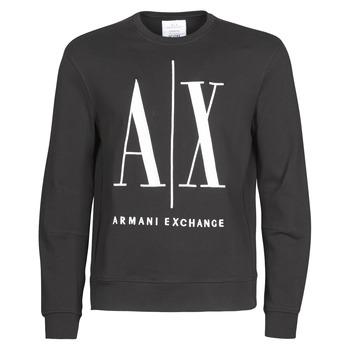 Odjeća Muškarci  Sportske majice Armani Exchange HELIX Crna