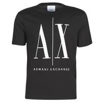 Odjeća Muškarci  Majice kratkih rukava Armani Exchange HULO Crna
