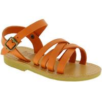 Obuća Djevojčica Sandale i polusandale Attica Sandals HEBE CALF ORANGE arancio