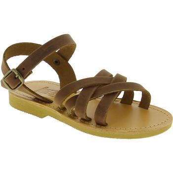 Obuća Djevojčica Sandale i polusandale Attica Sandals HEBE NUBUK DK BROWN Marrone medio