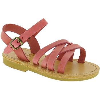 Obuća Djevojčica Sandale i polusandale Attica Sandals HEBE NUBUK PINK Rosa chiaro
