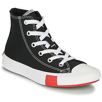 Obuća Dječak  Visoke tenisice Converse CHUCK TAYLOR ALL STAR - HI Crna / Žuta / Bijela
