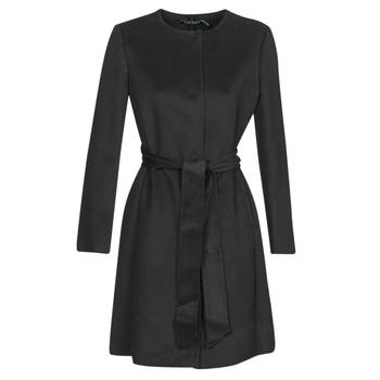 Odjeća Žene  Kaputi Lauren Ralph Lauren  Crna