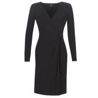 Odjeća Žene  Duge haljine Lauren Ralph Lauren  Crna