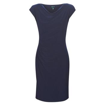 Odjeća Žene  Kratke haljine Lauren Ralph Lauren Ancelin Blue