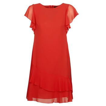 Odjeća Žene  Kratke haljine Lauren Ralph Lauren Arolde Red