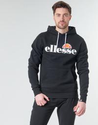 Odjeća Muškarci  Sportske majice Ellesse SL GOTTERO Crna