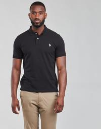 Odjeća Muškarci  Polo majice kratkih rukava U.S Polo Assn. INSTITUTIONAL POLO Crna