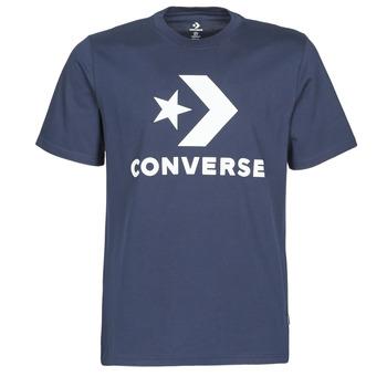Odjeća Muškarci  Majice kratkih rukava Converse STAR CHEVRON TEE Blue
