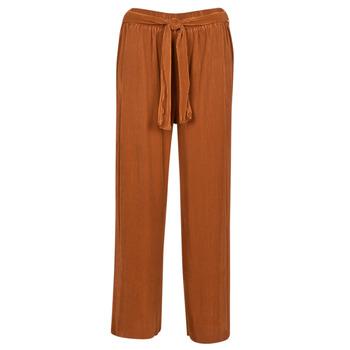 Odjeća Žene  Lagane hlače / Šalvare Moony Mood MERONAR Boja hrđe