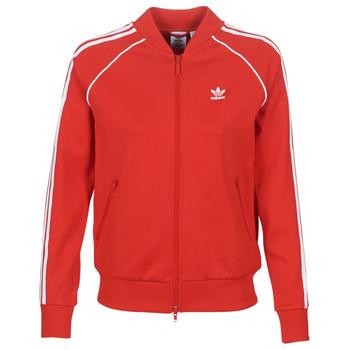 Odjeća Žene  Gornji dijelovi trenirke adidas Originals SS TT Red / Luxuriant