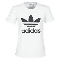 Odjeća Žene  Majice kratkih rukava adidas Originals TREFOIL TEE Bijela