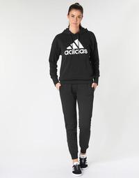 Odjeća Žene  Donji dio trenirke adidas Performance E LIN PANT Crna