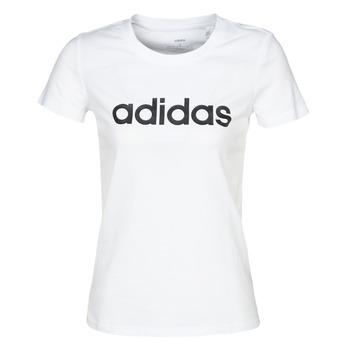 Odjeća Žene  Majice kratkih rukava adidas Performance E LIN SLIM T Bijela