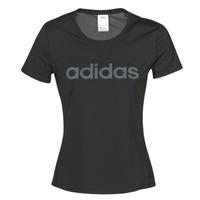 Odjeća Žene  Majice kratkih rukava adidas Performance D2M LO TEE Crna