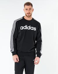 Odjeća Muškarci  Sportske majice adidas Performance E 3S CREW FL Crna