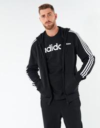 Odjeća Muškarci  Sportske majice adidas Performance E 3S FZ FT Crna