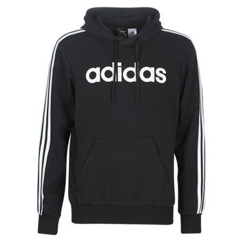 Odjeća Muškarci  Sportske majice adidas Performance E 3S PO FL Crna