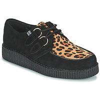 Obuća Derby cipele TUK LOW FLEX ROUND TOE CREEPER Crna