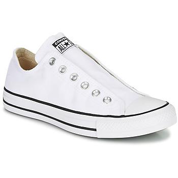 Obuća Žene  Slip-on cipele Converse Chuck Taylor All Star Slip Core Basics Bijela