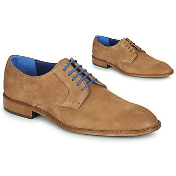 Obuća Muškarci  Derby cipele Azzaro ZENOU Boja konjaka
