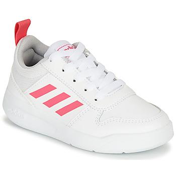 Obuća Djevojčica Niske tenisice adidas Performance TENSAUR K Bijela / Ružičasta