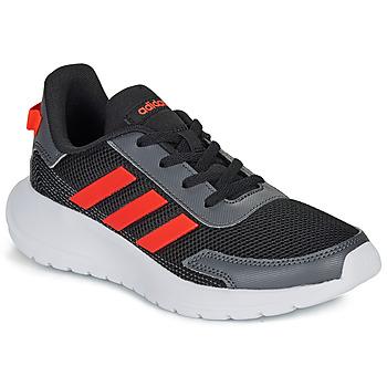 Obuća Djeca Niske tenisice adidas Performance TENSAUR RUN K Crna / Red