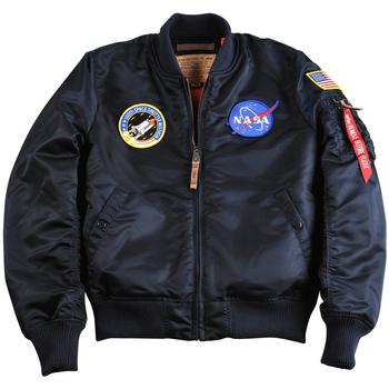 Odjeća Muškarci  Kratke jakne Alpha Veste  MA-1 VF NASA noir