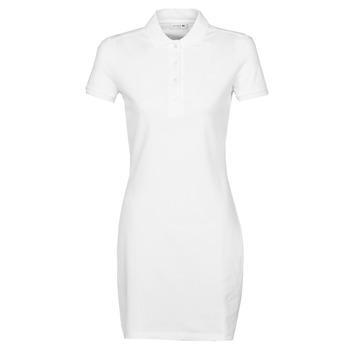 Odjeća Žene  Kratke haljine Lacoste EUGENIE Bijela