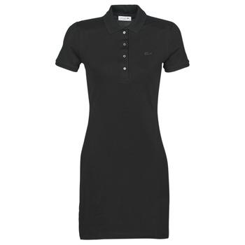 Odjeća Žene  Kratke haljine Lacoste  Crna