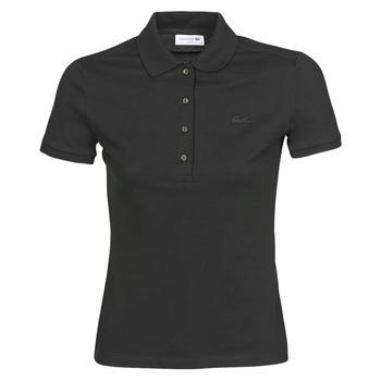 Odjeća Žene  Polo majice kratkih rukava Lacoste PH5462 SLIM Crna