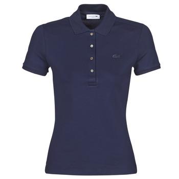 Odjeća Žene  Polo majice kratkih rukava Lacoste PH5462 SLIM Blue