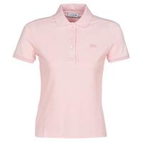 Odjeća Žene  Polo majice kratkih rukava Lacoste PH5462 SLIM Ružičasta