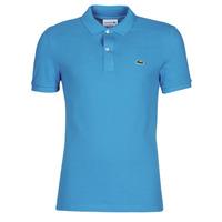 Odjeća Muškarci  Polo majice kratkih rukava Lacoste PH4012 SLIM Blue / Tirkizna
