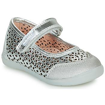 Obuća Djevojčica Balerinke i Mary Jane cipele Pablosky  Srebrna