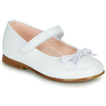 Obuća Djevojčica Balerinke i Mary Jane cipele Pablosky  Bijela