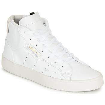 Obuća Žene  Visoke tenisice adidas Originals adidas SLEEK MID W Bijela