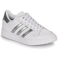 Obuća Niske tenisice adidas Originals MODERN 80 EUR COURT W Bijela / Srebrna