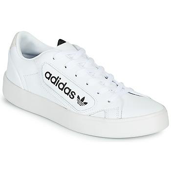 Obuća Žene  Niske tenisice adidas Originals adidas SLEEK W Bijela